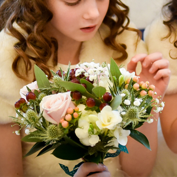 Flower girls bouquets