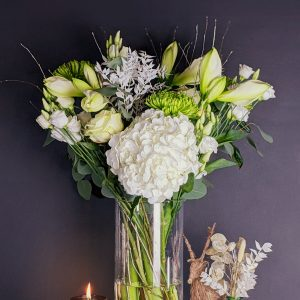 Christmas white bouquet