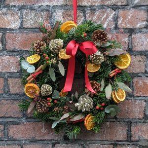 Luxe Christmas wreath