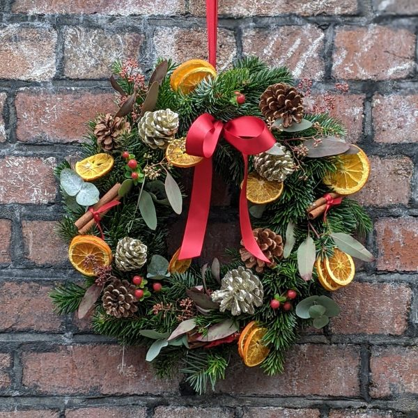 Luxe Christmas wreath